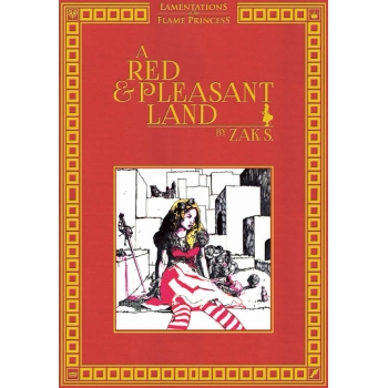 A Red & Pleasant Land Review, Zak Smith, Lamentations of the Flame Princess, Isle of the Unknown, Geoffrey McKinney, Corey Ryan Walden, Dungeons & Dragons