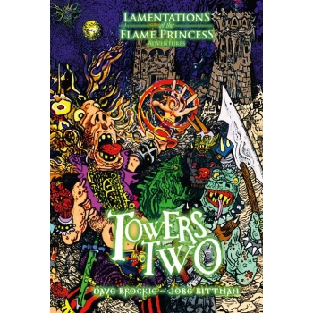 Towers Two: Lamentations of the Flame Princess -  Lamentations of The Flame Princess