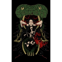 Shirt: Daughter of the Serpent - Ladies V-Neck XL